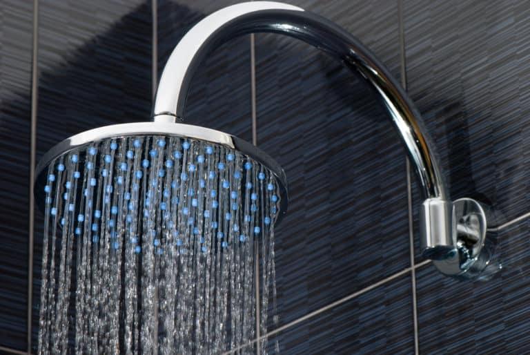 adjustable shower arm