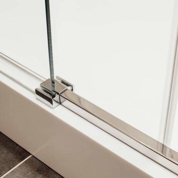 how to to Clean Shower Door Tracks