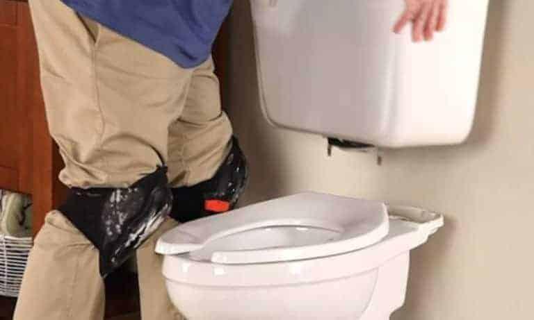 install toilet tank