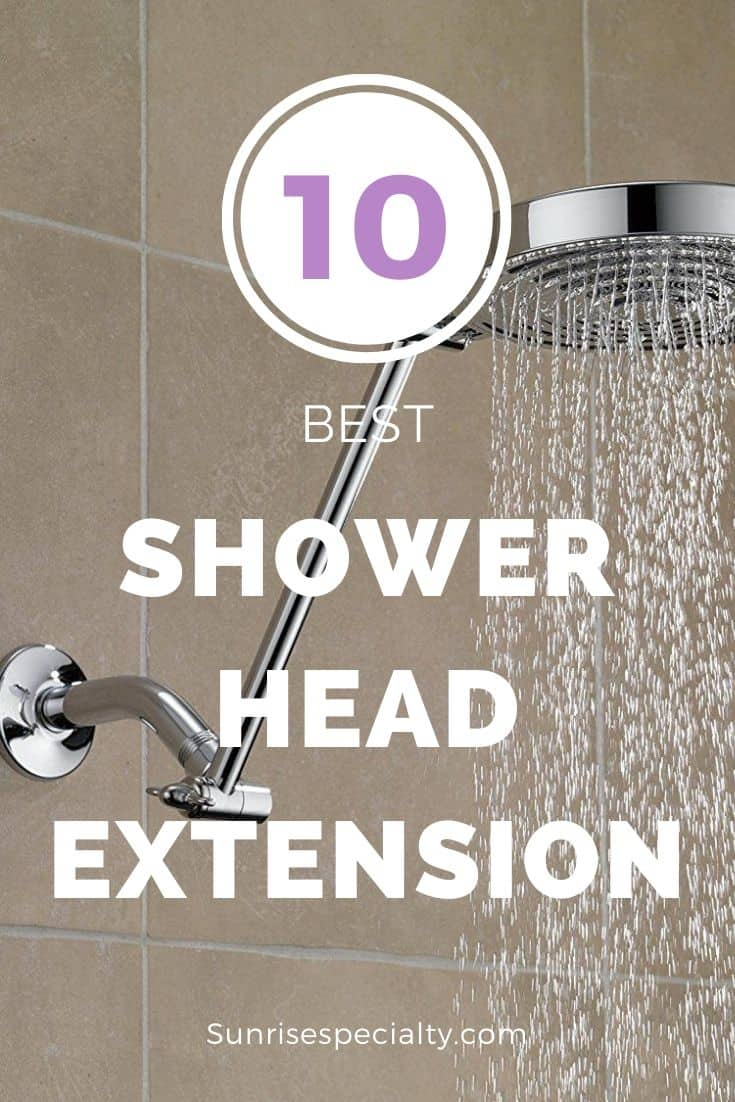shower head extension