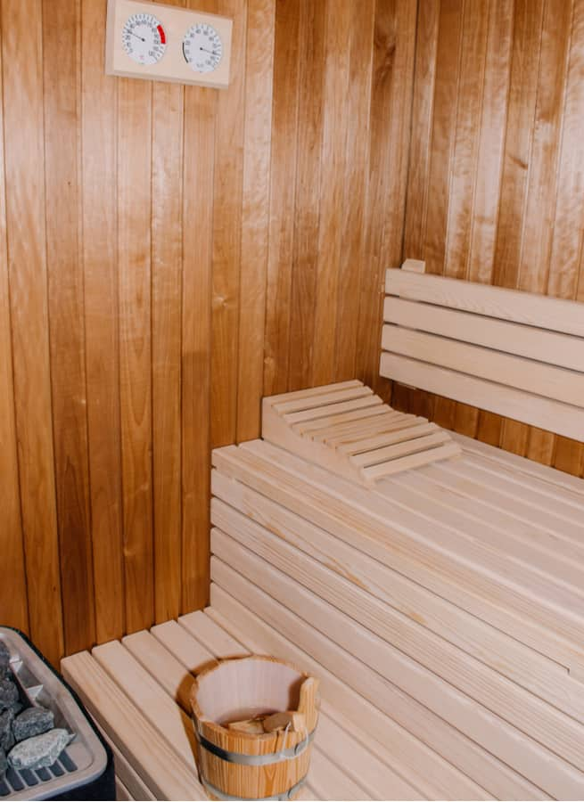 5. Sauna improves cardiovascular performance
