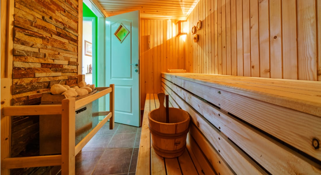 7. Sauna reduces the level of cholesterol