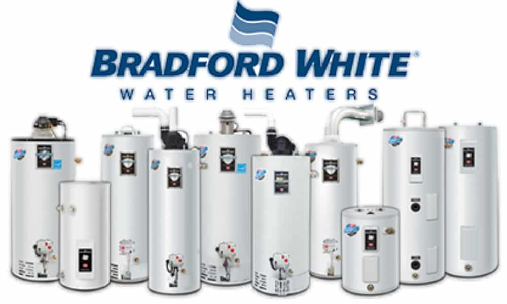 Bradford White water heater age