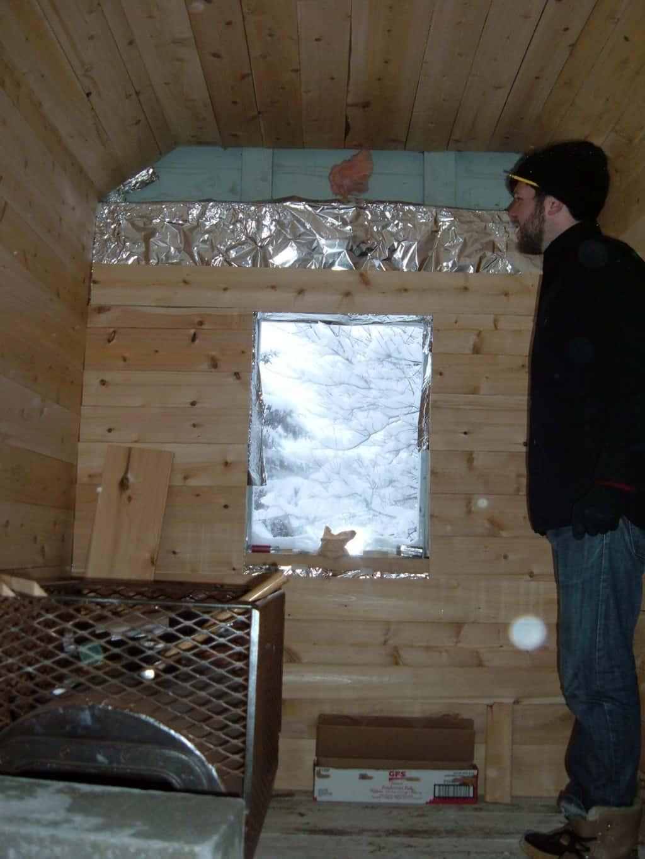 Convert a Shed into a Sauna