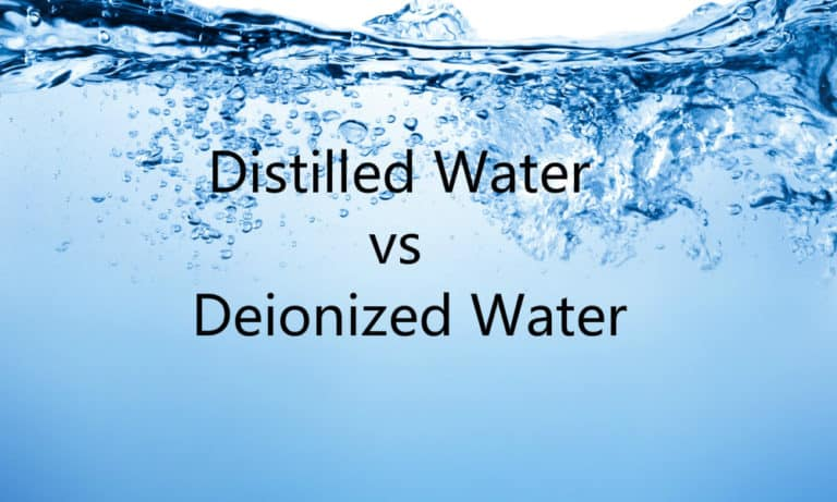 Distilled Water vs. Deionized Water What's the Difference