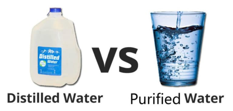 Distilled Water vs. Purified Water What's the Difference