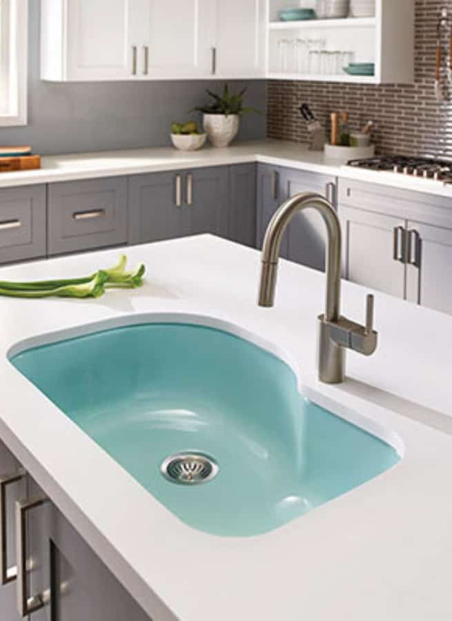 Enamel Kitchen Sinks