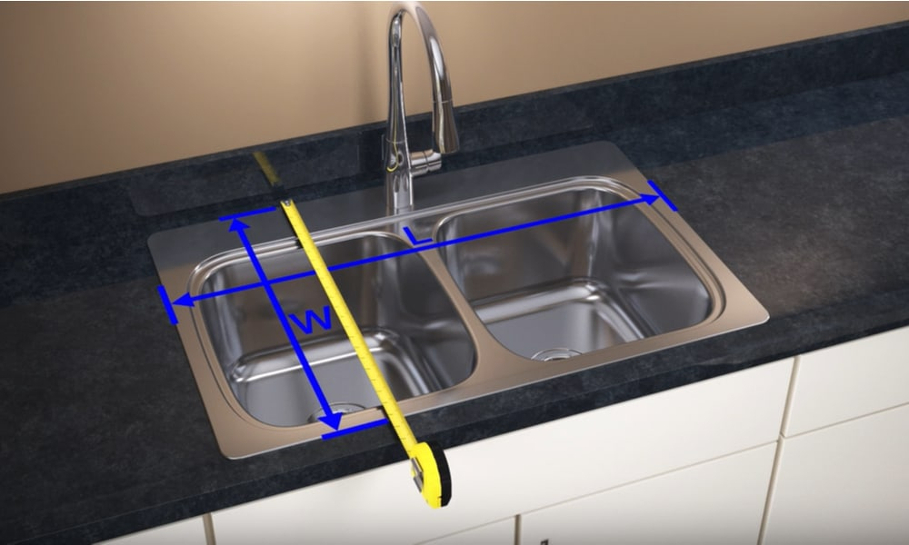 Find the Width of the Sink