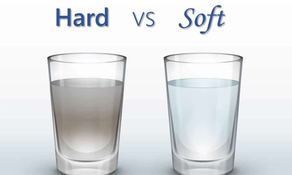 Hard Water vs. Soft Water What's the Difference