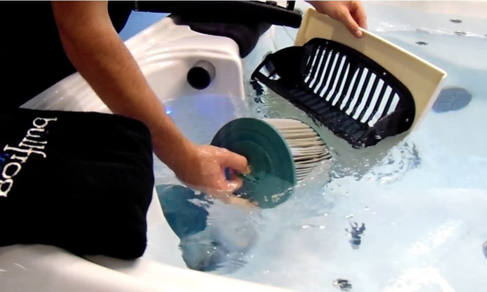 How often should you clean a hot tub filter