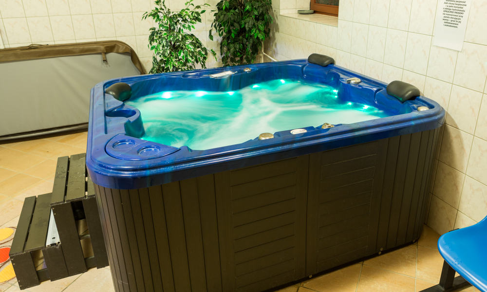 Keep your hot tub sanitized