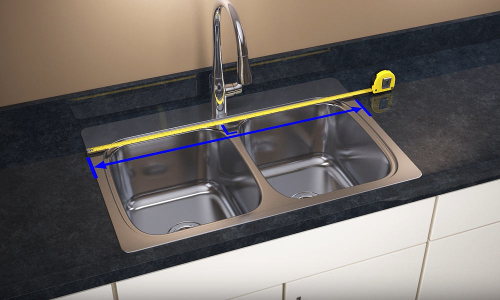 Measure the Length of the Sink