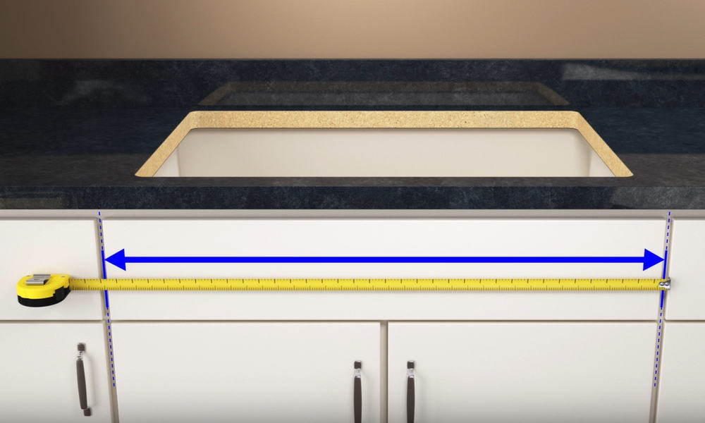 Measure the Width of the Cabinet Opening