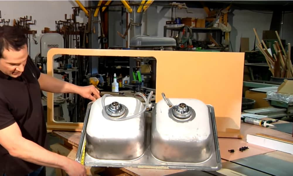 Measure the Width of the Top Part of the Sink