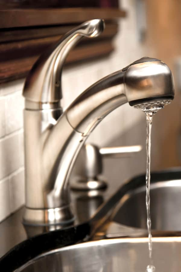 Low Water Pressure in a Kitchen Faucet