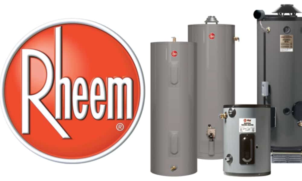 Rheem water heater age