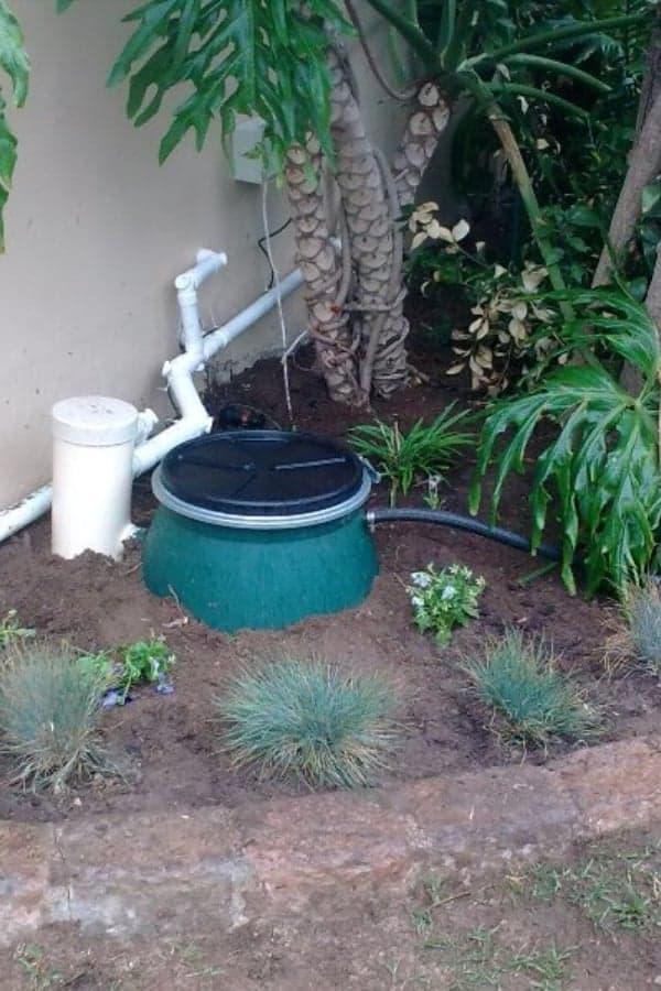 Simple Waste Water Tank