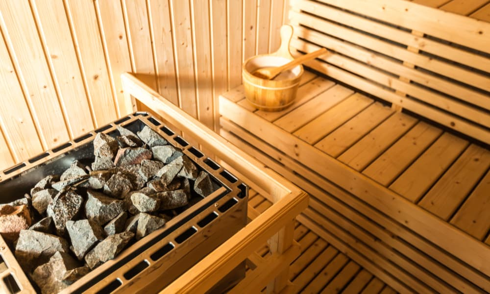 Traditional Steam Rock Sauna