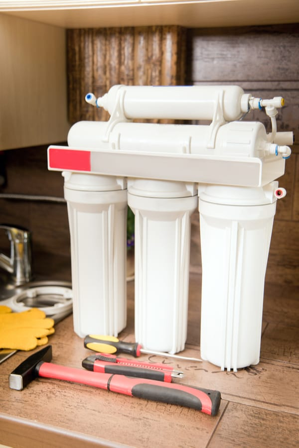 Use a reverse osmosis systemalongside an activated carbon filter