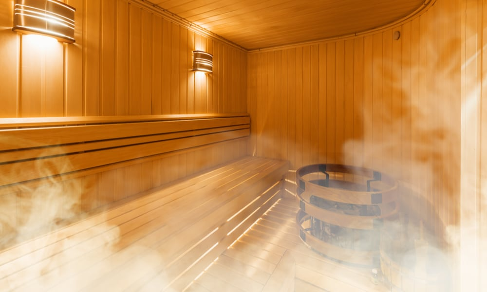 What is a traditional sauna