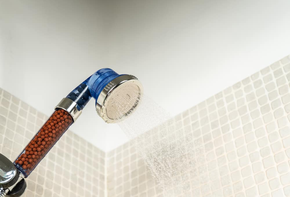shower head water softener