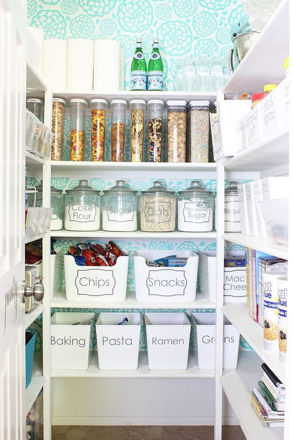Dump Cardboard Boxes for Clear Canisters
