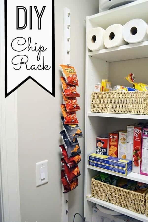Install a Chip Hanger
