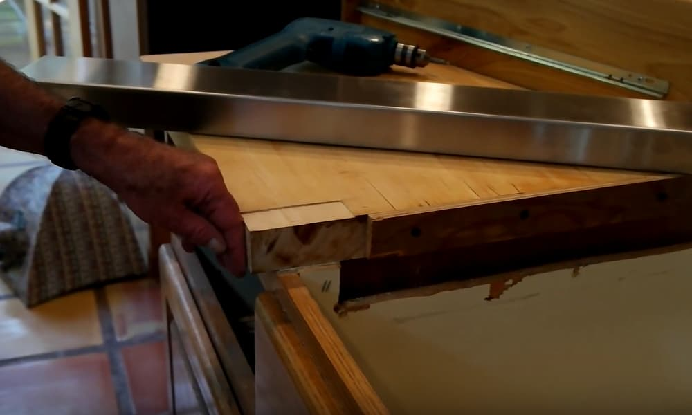 Modify the Countertop Opening to Match Cooktop