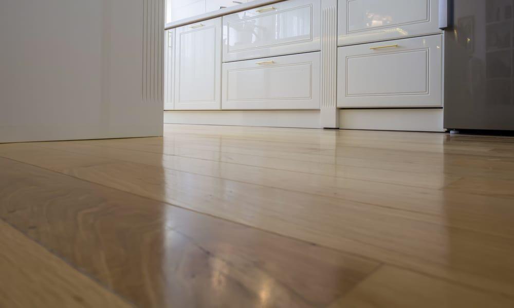 Parquet kitchen flooring