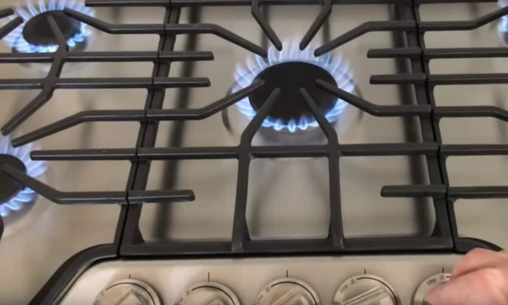 Test the Gas Burners to Check Procedure Success