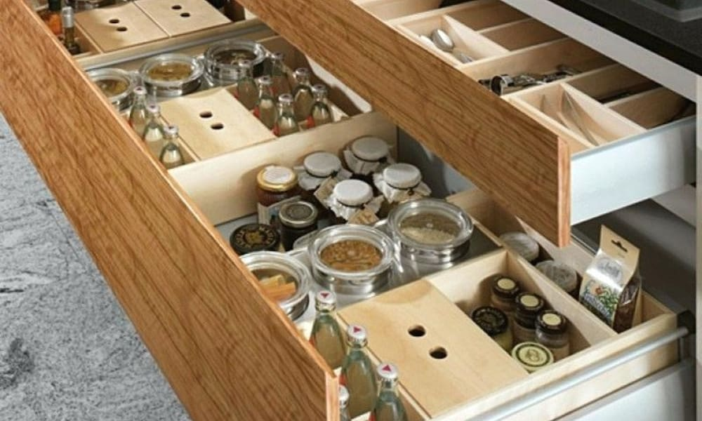 Drawer for keeping spices