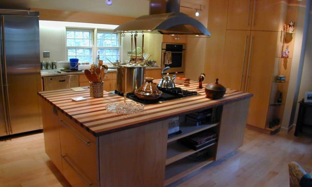 Fully functional kitchen island