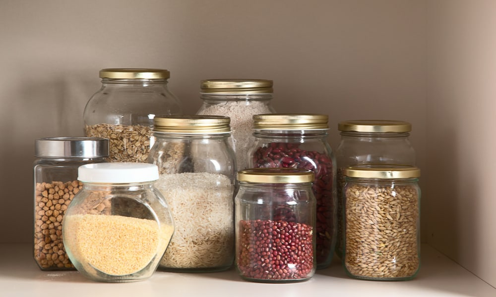 Handy jar storage