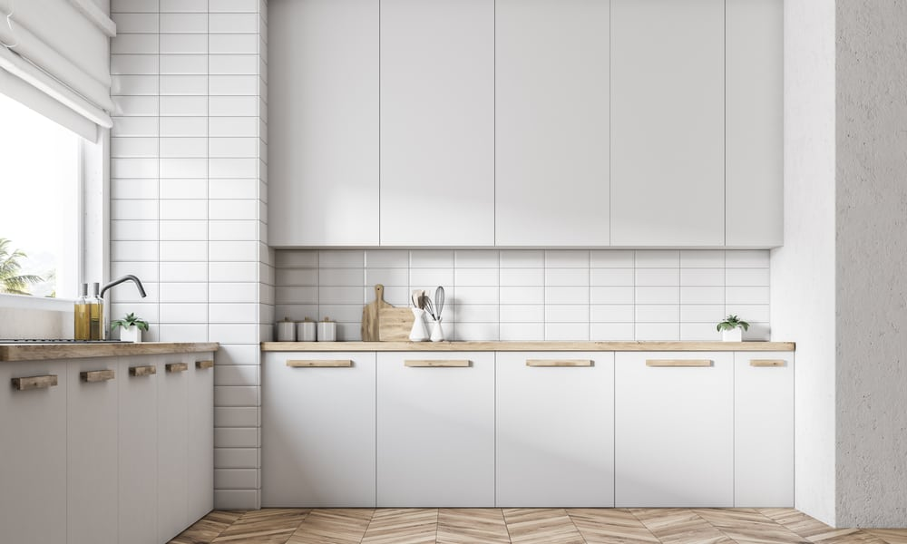 In-wall kitchen