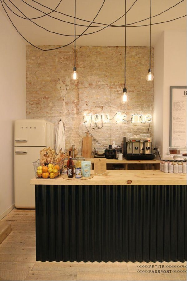 Kitchen lights with exposed wires
