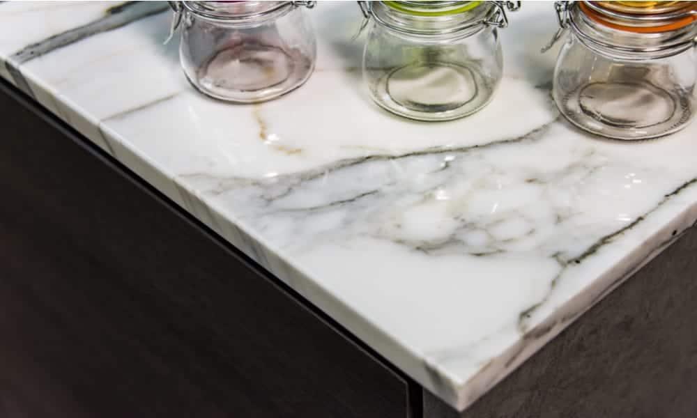 Marble countertop material