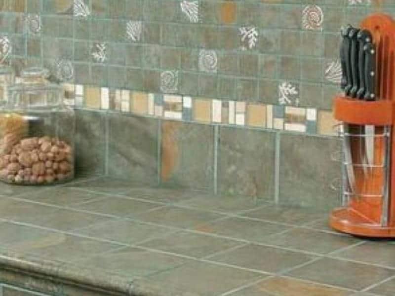 Merging backsplash tiles