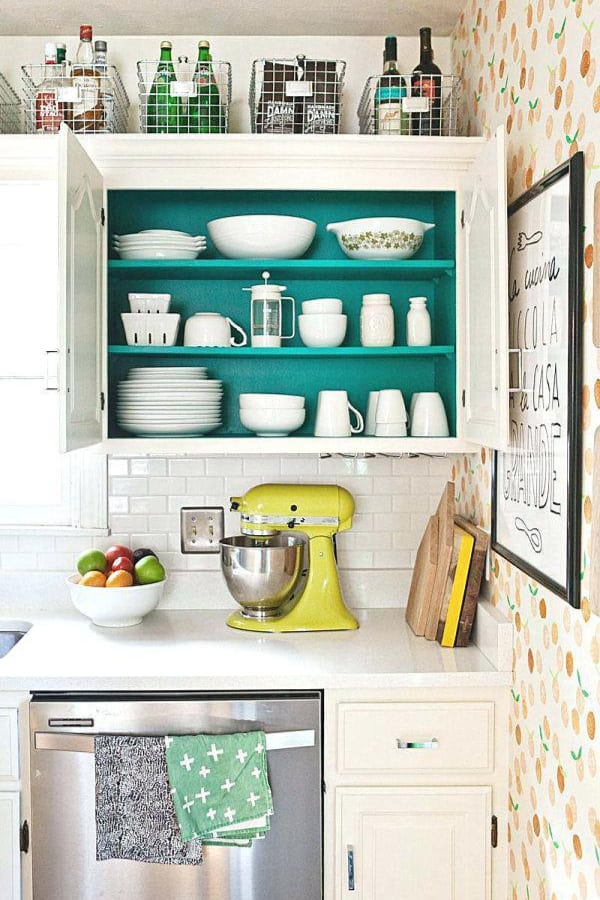 Tops of your kitchen cabinets