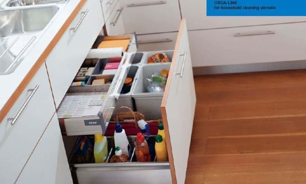 Under-sink drawer