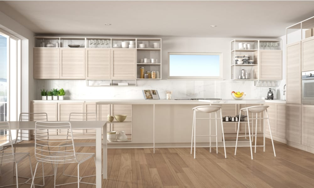 Whitish kitchen