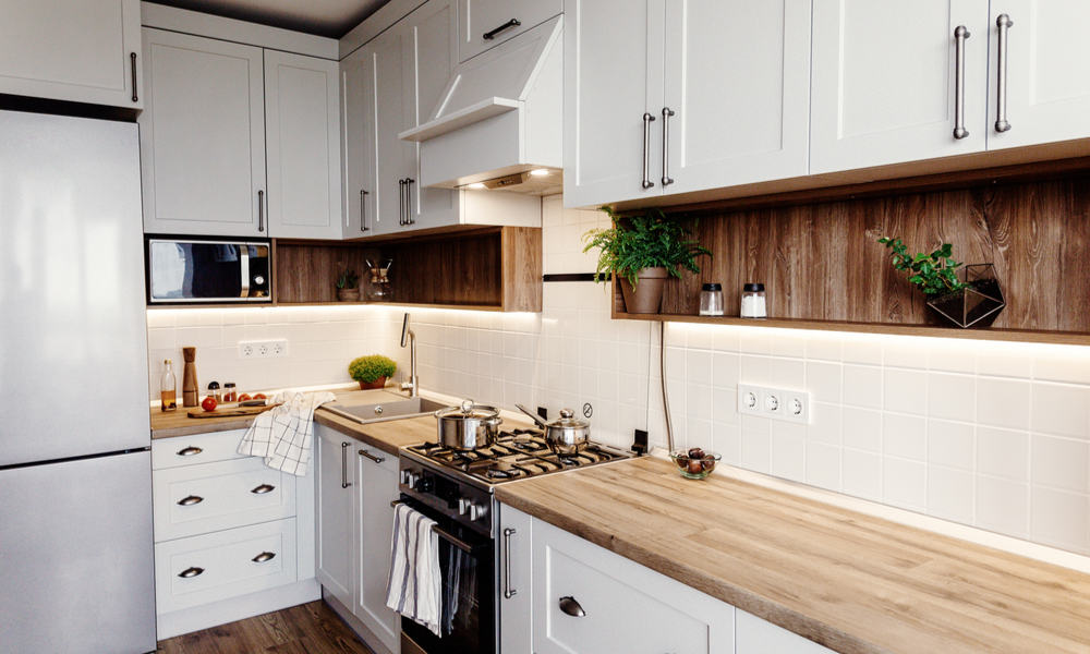 Wooden countertop style