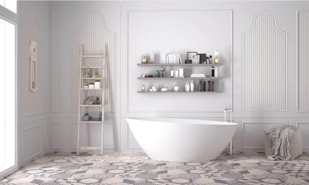 Accessorizing Large Bathrooms