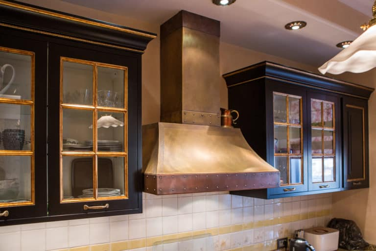 Install a Range Hood Vent through Your Ceiling
