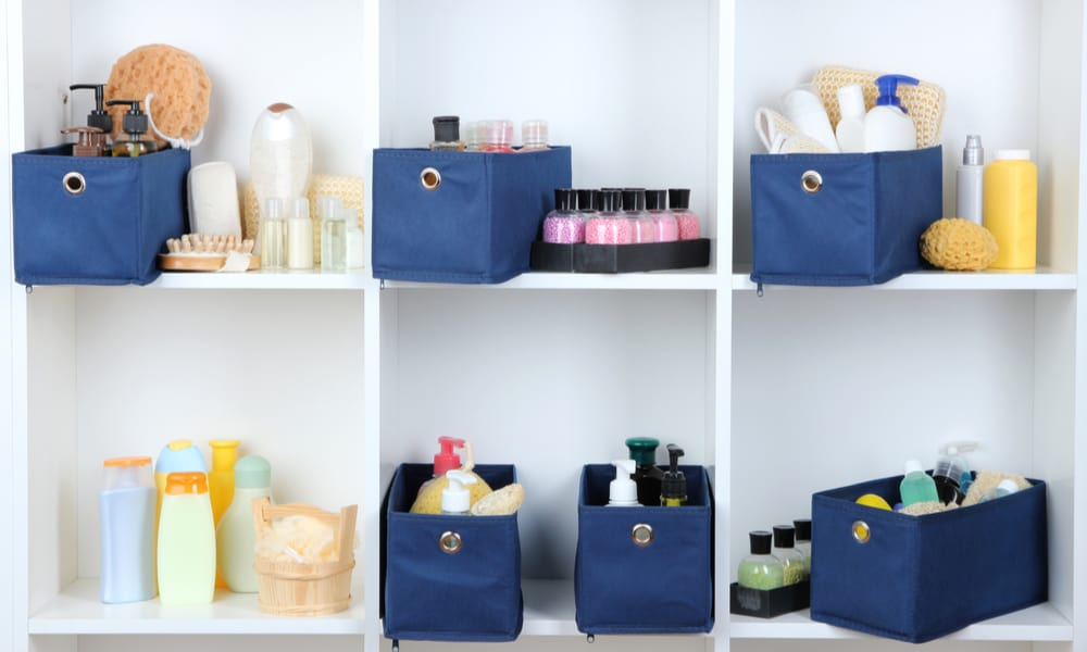 Textile Boxes for Cosmetics