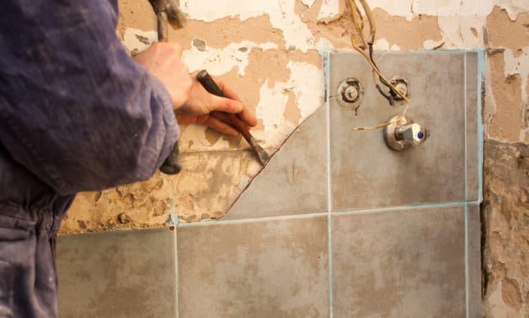 10 Easy Steps to Remove Bathroom Tiles