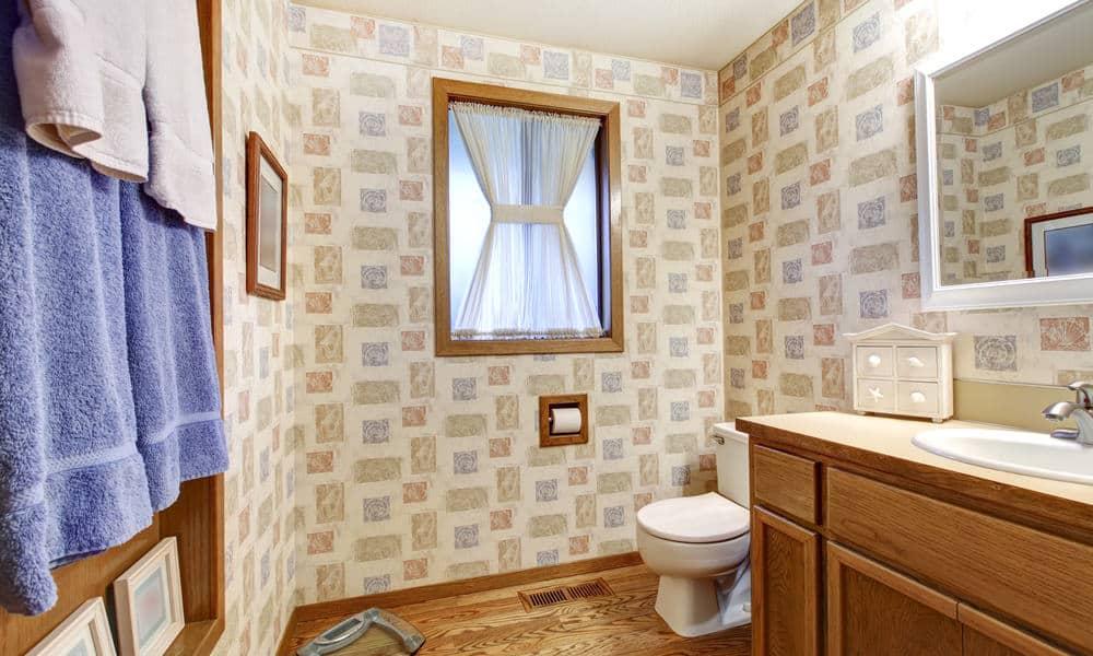 33 Beautiful Bathroom Wallpaper Ideas