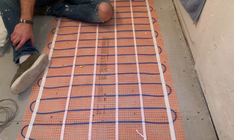 9 Steps to Install In-Floor Heating for your Bathroom