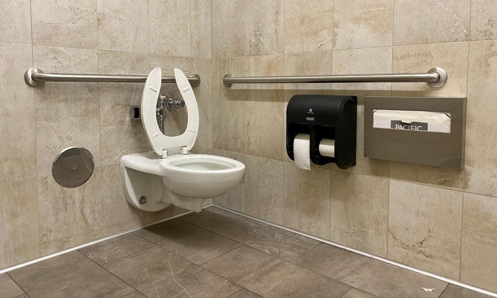 ADA bathroom stall dimensions