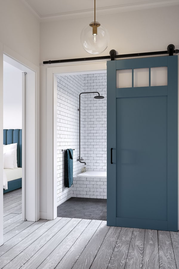Advantages and Disadvantages of Barn Door for Bathroom