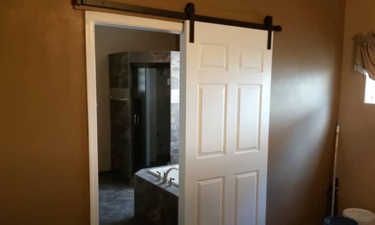 Barn Door for Bathroom Is It a Good Idea
